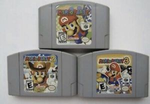 N64 - Nintendo 64 - Mario Party 1-2-3. for Sale in Lowellville, OH
