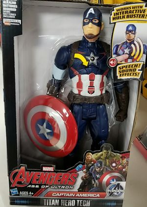 Marvel Avengers Captain America Action Figure New for Sale in Rosedale, MD