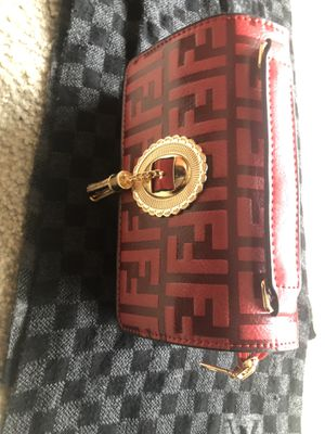 Medium red fendi leather bag for Sale in Washington, DC