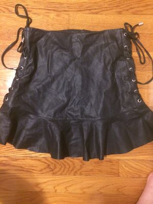 Leathered skirt for Sale in Quincy, MA
