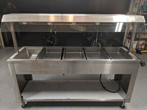 Commercial Stainless Electric Hot Food Buffet Table 240v for Sale in Port Orchard, WA