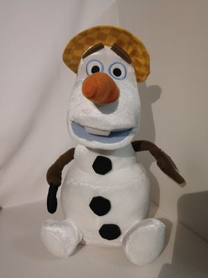 """13"""" Summertime Singing Talking Animated Olaf Plush Doll (mouth moves)Disney OLAF for Sale in Murray, UT"""