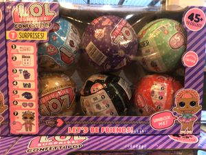 LOL Mystery Girl Dolls Kids Toys - 6 Pack Deal for Sale in Fort Worth, TX