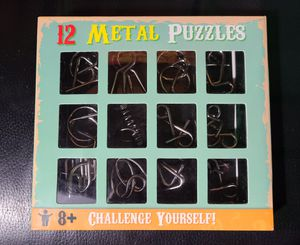 12 Metal puzzles for Sale in San Jose, CA