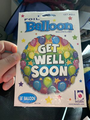 "New Betallic 18"" Get Well Soon Foil Balloon! for Sale in Pittsburg, CA"