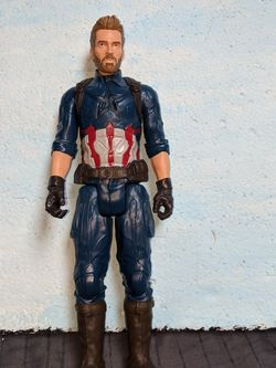 Marvel Action Figure Captain America Articulated 12 Inch Avengers for Sale in Tigard,  OR