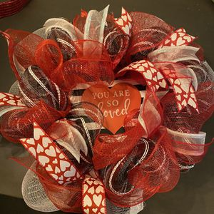 Valentines Wreathe for Sale in Snellville, GA