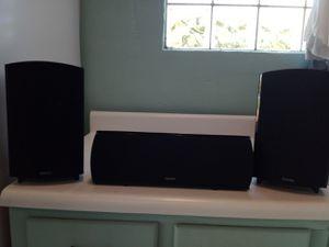 Definitive 1000 watt 3 piece surround sound speakers.. for Sale in Miami, FL