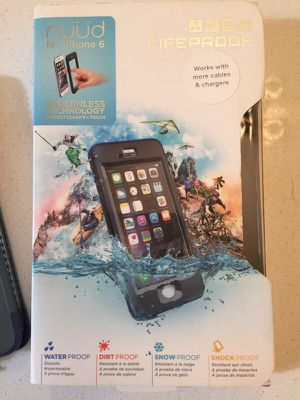 Lifeproof Nuud iPhone 6 case for Sale in Nashville, TN