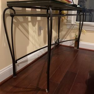 "Table With Glass Top 17x50"" for Sale in Washington, DC"