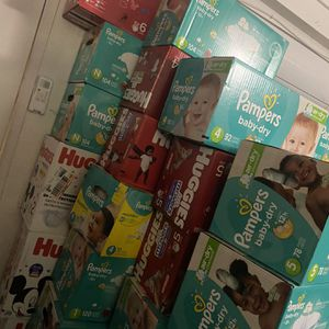 Huggies diapers and pampers diaper sell $20 each for Sale in Fontana, CA
