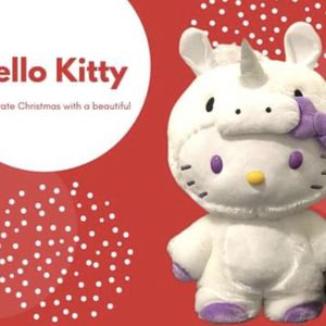 Beautiful Hello Kitty in Unicorn Costume 21 inches tall for Sale in Boston, MA