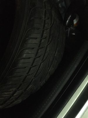 """(2) Barely Used 90% Yokohama 225 45 17"""" tires for Sale in New York, NY"""