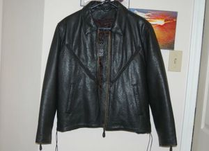 USA Dream Apparel leather jacket. Size Medium. for Sale in Grand Prairie, TX