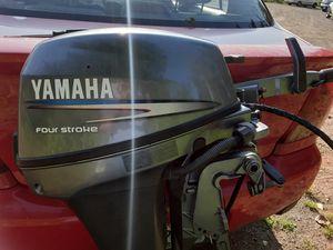 Yamaha 8hp Longshaft Electric Start Trolling motor for Sale in Lake Stevens, WA