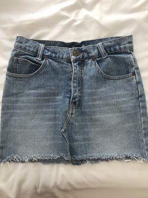 Vintage Levi's Blue Denim Skirt for Sale in Cedar Park, TX