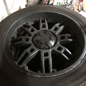 22x10 wheels and tires for Sale in Elgin, IL