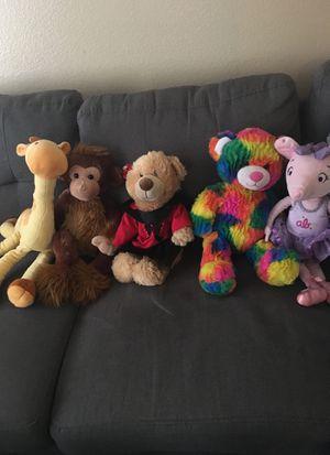 Stuffed animals: small, medium & large for Sale in Las Vegas, NV