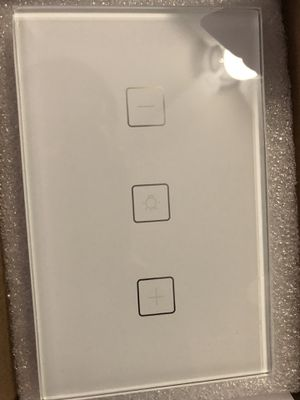 Glass Touch dimmer wall switch (good for vanities) for Sale in Dallas, TX