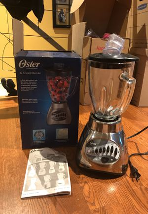 Like new oyster 12 speed blender for Sale in Seattle, WA