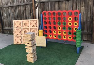 Jumbo connect 4 jumbo games party rentals for Sale in Huntington Park, CA