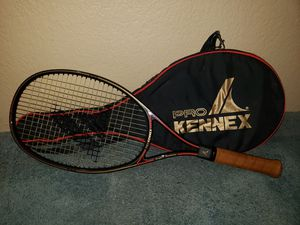 RARE - NEVER USED Pro Kennex 100% Graphite tennis racket w/case. for Sale in Riverside, CA