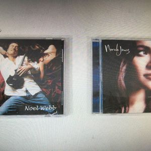 Lot Of 2 Jazz CD's (Noel Webb: Satin Sheets) (Norah Jones: Come Away With Me) for Sale in Layton, UT