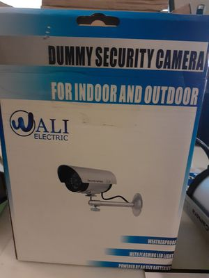 Dummy outdoor indoor security fake camera for Sale in Wichita, KS