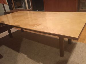 Wood birch/walnut Coffee table for Sale in Portland, OR