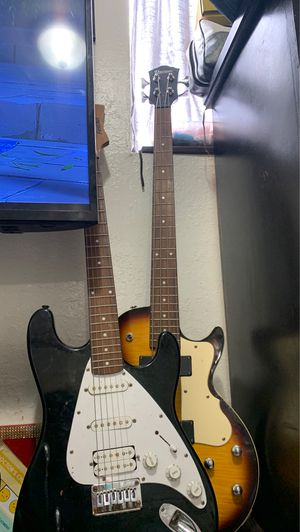 Guitar and bass for Sale in Los Angeles, CA