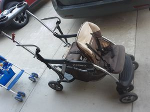 Stroller, sit and stand, double for Sale in Alta Loma, CA