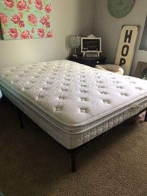 Queen Mattress and Frame for Sale in Temecula, CA