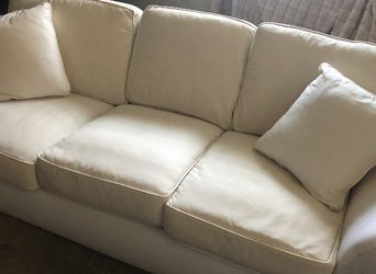 Down Couch With Removable Zippered Cushions - Cover Available for Sale in Pittsburgh,  PA