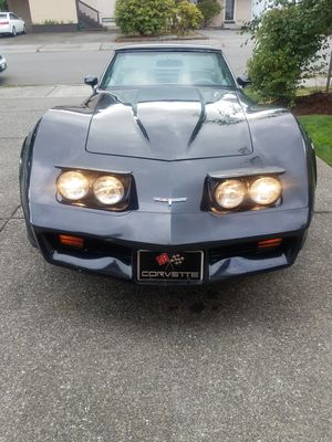 Fall Special!!! 1980 Corvette. Original Paint, Original V8 5.7 350 Motor, T-Tops, Leather, Rally Wheels, Clean Title.. for Sale in Lynnwood, WA