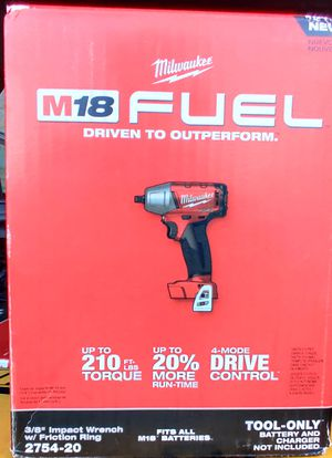 """Milwaukee FUEL 3/8"""" Impact Wrench for Sale in Pittsburgh, PA"""