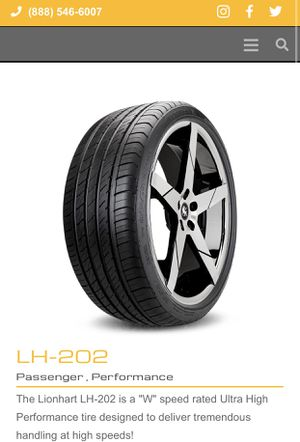 Tire Lionhart New (1 Only) for Sale in Maywood, CA