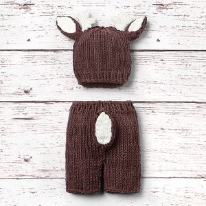 NEWBORN HAND KNITTED DEER SET🦌 for Sale in McDonough, GA