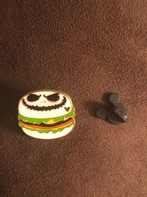 Nightmare Before Christmas (Jack the Pumpkin King) CHEESEBURGER TRADING PIN for Sale in Davenport, FL