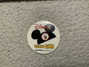 NEW RARE DISNEY VOLUNT EARS WALT DISNEY IMAGINEERING BUTTON (EXCELLENT CONDITION) for Sale in Henderson, NV