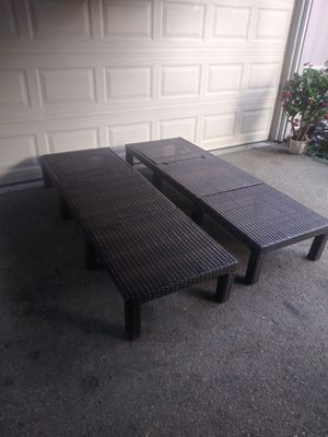Outdoor patio chaise lounging chairs for Sale in Los Angeles, CA