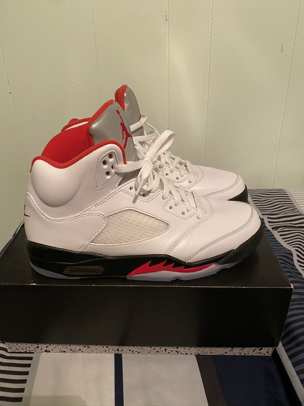Fire Red Air Jordan 5 sz10
