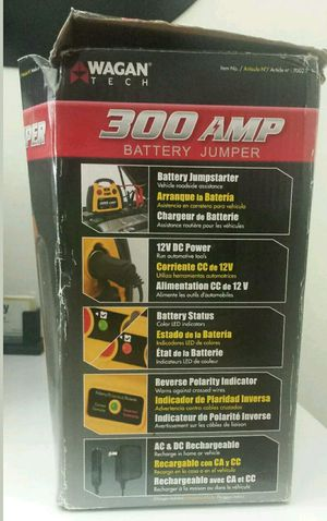Buy TODAY WAGAN 300a Battery Jump Starter 7002-1 for Sale in Alexandria, VA