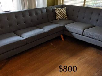New Mid Century Modern Sectional Couch Only $50 Down Payment for Sale in Torrance,  CA