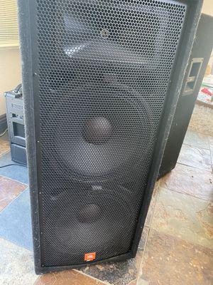 Jbl jrx125 speakers dj audio concert live for Sale in Orange, CA