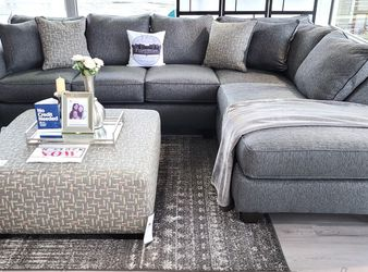 $50 Down Financing ‼️NEW GREY SECTIONAL SOFA COUCH for Sale in Oviedo,  FL