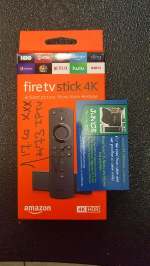 4K Fire Tv Stick Amazon for Sale in Fort Lauderdale, FL