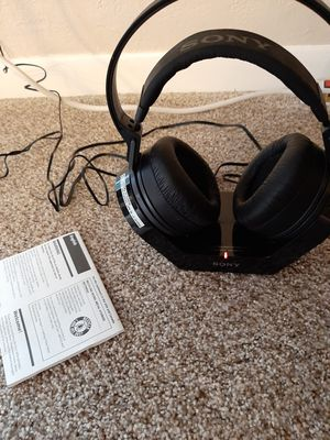 Sony mdr rf970r headphones wireless for Sale in Westminster, CO