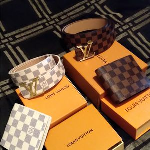 Damier Set..brown Grid Or white Grid for Sale in Concord, CA