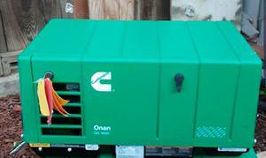 Cummins Onan QG 4000 4.0KY-6747 4kW 120V RV Gas RV EVAP Generator for Sale in Oakley, CA