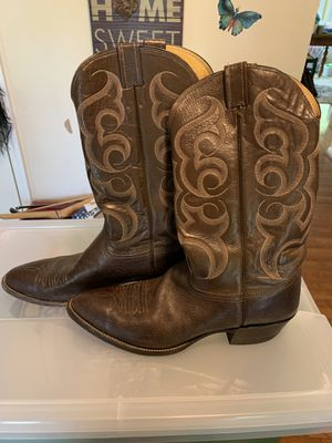 Men's Leather Cowboy Boots 12 for Sale in Silver Spring, MD